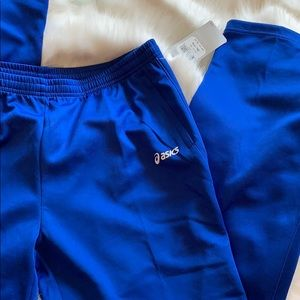 New Men's ASIC Blue CALI PANT Track Activewear